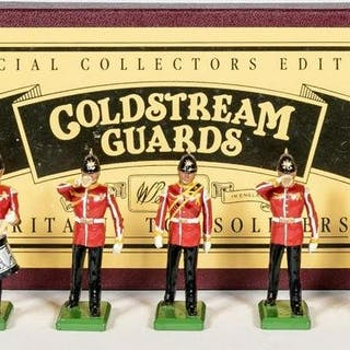 Britains, Royal Drummers Lead Toy Soldiers