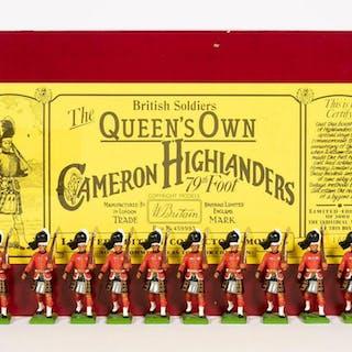 Set #5183 Britains Cameron Highlanders 79th Foot