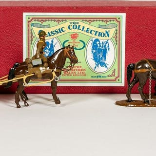 """Trophy Miniatures """"Supply Wagon"""" Toy Soldiers"""