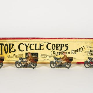 Britains Set #200, Motor Cycle Corps Circa 1930