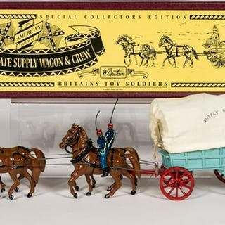 "North Coast Miniatures ""Supply Wagon"" Toy Soldiers"