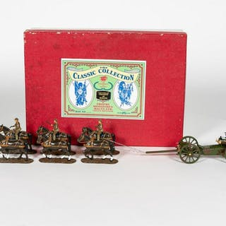 "Trophy Miniatures ""Royal Field Artillery Gun Team"""