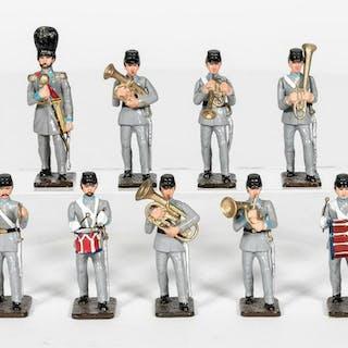 """9 Pc, Unidentified Maker """"Pre-Civil War Band"""""""