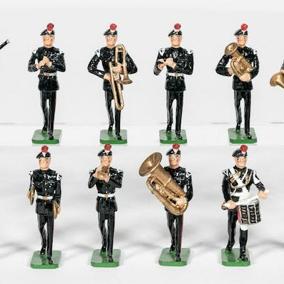 "12 Pc, Sarum Soldiers ""British 20th C. Band"""