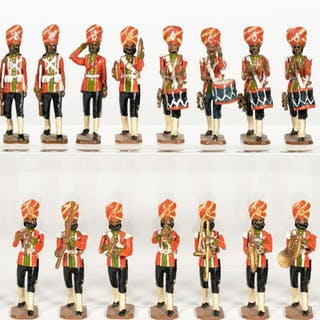 Soldiers' Soldiers, John Tunstill Colonial Band