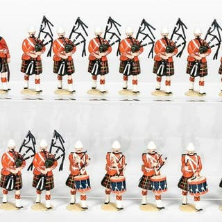 """20 Pc, Imperial Productions """"Scottish Pipers"""""""