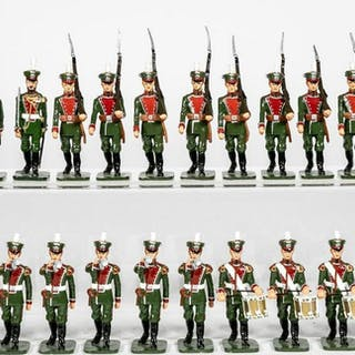 23 Pc, Russian Marching Band Toy Soldiers