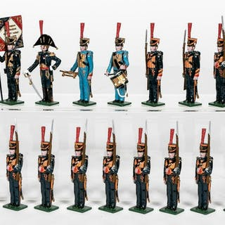 """16 Pc, Tradition """"French Marines Guard"""" Set #721"""