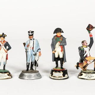 "Stadden, Four Hand Painted ""Napoleonic"" Figures"