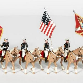 Ducal, United States Marine Core Mounted Soldiers