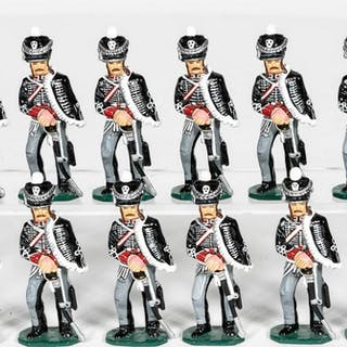 12 Pc, King and Country German Napoleonic Soldiers
