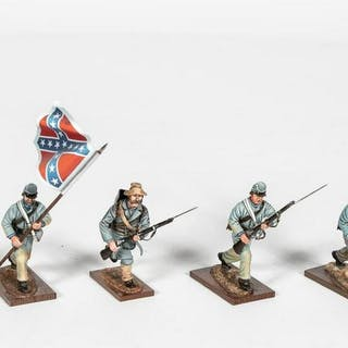 "5 Pc, Hand Painted St. Petersburg ""Civil War"""