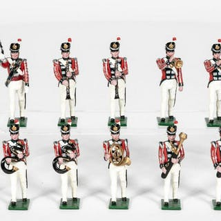 10 Pc, Traditions 19th Century British Band