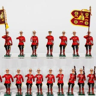 18 Pc, Royal Canadian Mounted Police Soldiers