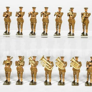 "21 Pc, Unidentified Maker ""British WWI Band"""