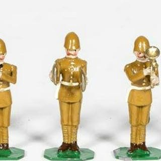 9 Pc, GBE British Band Toy Soldiers