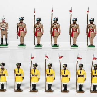 13 Pc, Traditions British Colonial Indian Soldiers
