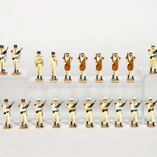"26 Pc, Ducal ""French Foreign Legion"" Toy Soldiers"