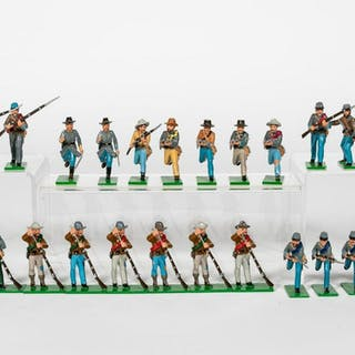 "26 Pc, Trophy Miniatures ""Confederate Army"""