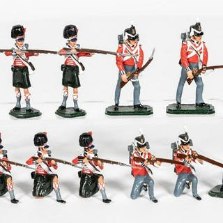 "12 Pc, ANI Toy Soldiers ""Napoleonic Wars"""