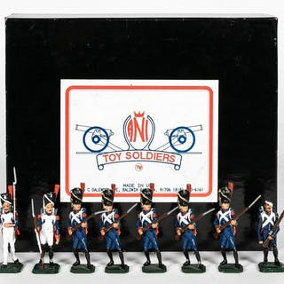 "8 Pc, ANI Toy Soldiers ""French Napoleonic"""