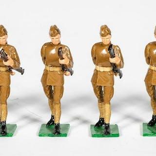 "6 Pc Unidentified Maker ""WWI American Honor Guard"""