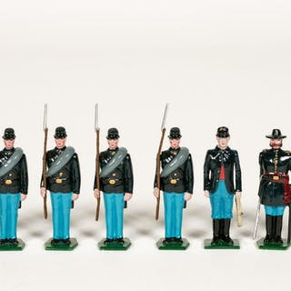 "8 Pc, Traditions ""Union Civil War"" Toy Soldiers"