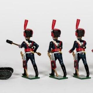 """7 Pc, Tradition """"French Napoleonic Cannoneers"""""""