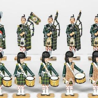"12 Pc, King & Country ""Scottish Highlander"""