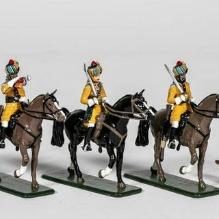 "10 Pc, Frontline Figures ""Mounted Indian Calvary"""