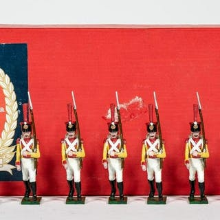 """7 Pc, Tradition """"British Infantry of the Line"""""""