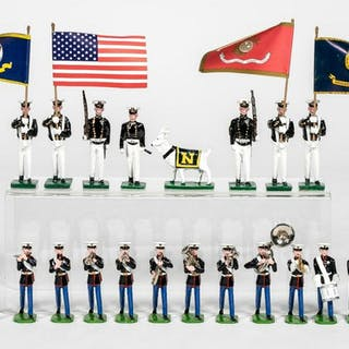 """20 Pc, Ducal & Martin Ritchie """"Marines & Naval"""""""