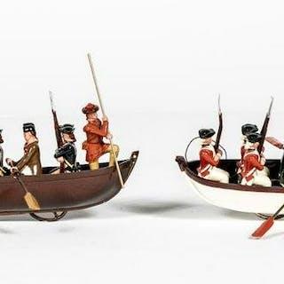 "19 Pc, Bill Hocker ""Washington Crossing"" Toy Soldiers"