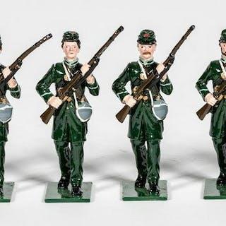 6 Pc, Fusilier Miniatures Irish Civil War Soldiers