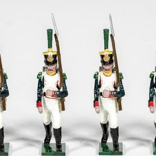"6 Pc, Tradition ""French Napoleonic"" Toy Soldiers"