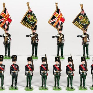 "12 Pc, Ducal ""British Royal Guard"" Toy Soldiers"