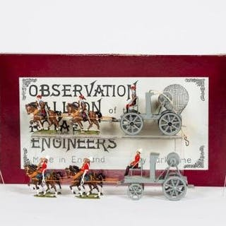 Pair, Marktime Observation Balloon & Winch Wagon