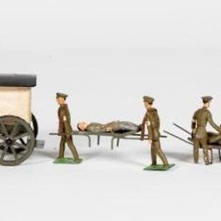 Heyde French Ambulance Wagon Set