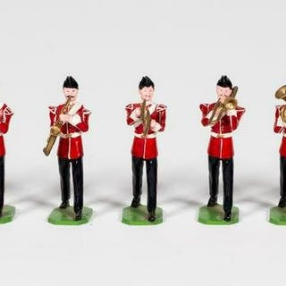 """11 Pc, Ducal """"British Victorian Band"""" Toy Soldiers"""