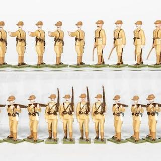 24 Pc, Steadfast Boer War British Infantry Soldier