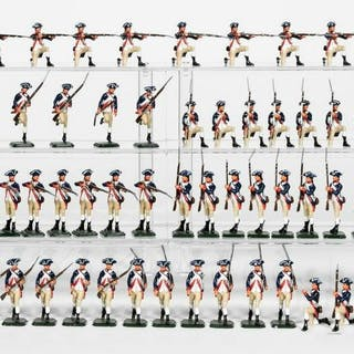 """76 Pc, ANI Toy Soldiers """"American Revolution Line"""""""