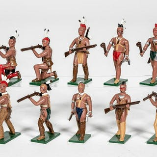 "10 Pc, Soldiers of the World ""American Indian"""