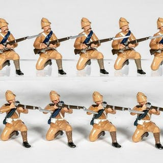 "12 Pc, Trophy Miniatures ""British WWII"" Soldiers"