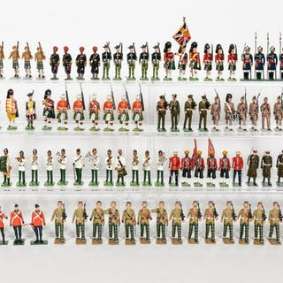 102 Pc, Mixed Makers Miscellaneous Toy Soldiers