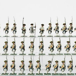 "50 Pc, Stadden Studio ""British 8th Army"" Soldiers"