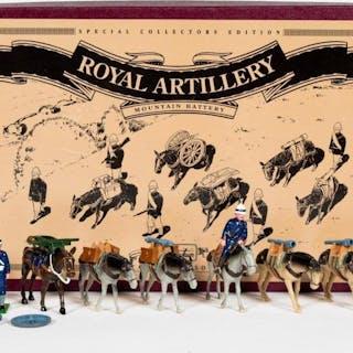 """Britains """"Royal Artillery Mountain Battery"""" #8857"""
