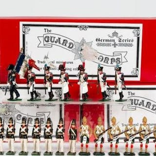21 Pc, Tradition Mixed Toy Soldier Grouping