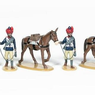 "10 Pc, Frontline Figures ""Khyber Infantry"" Soldier"