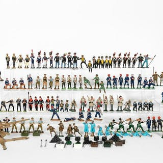 Mixed Maker Grouping, Miscellaneous Toy Soldiers