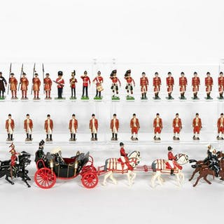 Miscellaneous British Toy Soldier Grouping